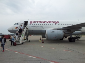Volo Germanwings atterrato all'aeroporto di Berlino Tegel