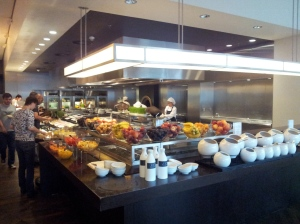 Breackfast buffet al Grand Hyatt