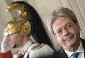 Newly appointed Italy Prime Minister, Paolo Gentiloni, after a meeting with Italy President, Sergio Mattarella, at Quirinale Palace. Rome, 11 December 2016. ANSA/CLAUDIO PERI